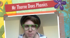 Mr Thorne does phonics